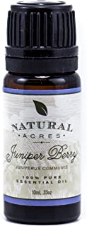 Juniper Berry Essential Oil - 100% Pure Therapeutic Grade Juniper Oil by Natural Acres - 10ml