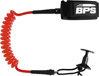BPS 'Storm' Coiled PRO Body Board Wrist Leash - Choose Color