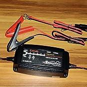 Vollautomatisches Ladegerät Careslong 12v 5a Smart Batterie Ladegerät 8 Schritt Ladeprogramm Batterieladegerät Erhaltungsladegerät Für Kfz Pkw Auto Motorrad Eu Stecker Auto