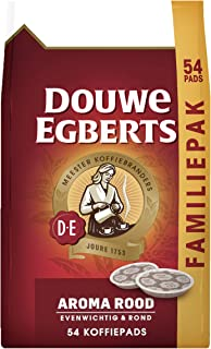 Douwe Egberts Koffiepads Aroma Rood, Familiepak, (216 Pads, Geschikt voor SENSEO Koffiepadmachines, Intensiteit 05/09, Med...