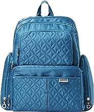 SoHo Manhattan Diaper Backpack Bag 5pc, Blue