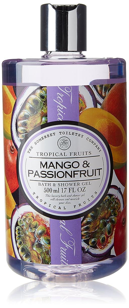 ペック教育縮れたTropical Fruits Mango & Passionfruit Bath & Shower Gel 500ml