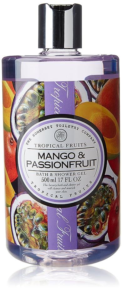 シャット予約事務所Tropical Fruits Mango & Passionfruit Bath & Shower Gel 500ml