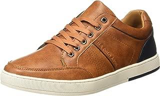 US Polo Association Men's Lou Leather Sneakers
