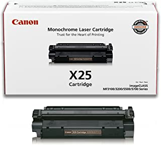 Canon Genuine Toner, X25 Black (8489A001), 1 Pack, for Canon imageCLASS MF3110, MF3111, MF3240, MF5530, MF5550, MF5730, MF5750, MF5770
