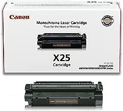 Canon Genuine Toner, X25 Black (8489A001), 1 Pack, for Canon imageCLASS MF3110, MF3111, MF3240, MF5530, MF5550, MF5730, MF5750, MF5770