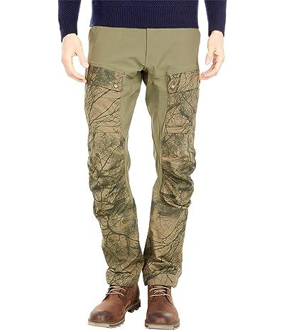 Fjallraven Keb Trousers (Green Camo/Laurel Green) Men