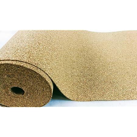 Rollo de corcho de 8 mm de grosor, 10 m² de ancho, 1 m de ...