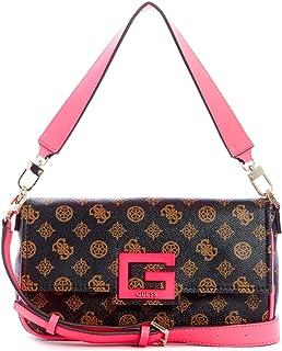 GUESS Womens Handbag, Brown/Multicolour - SN758019