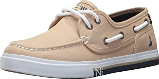 Nautica Kids' Spinnaker-Canvas Boat Shoe