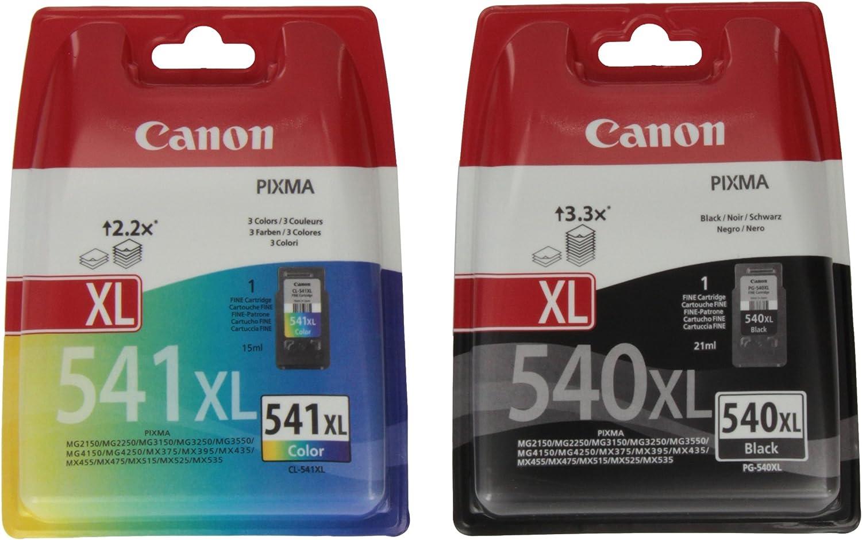 Canon Pg 540 Xl Druckertinte Schwarz Hohe Reichweite 21 Ml Für Pixma Tintenstrahldrucker Original Bürobedarf Schreibwaren