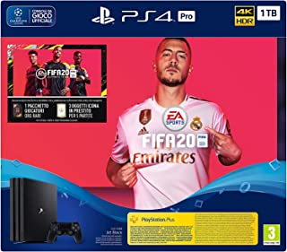 PS4 Pro + FIFA 20 - Special - PlayStation 4 Importación