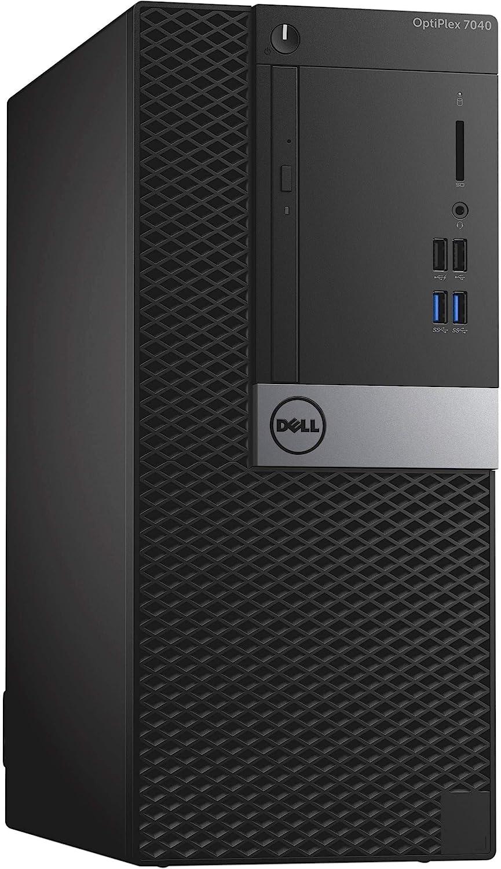 Dell Optiplex 7040 Mini Tower, Intel Core 6th Generation i5-6500 Processor, 8 GB DDR4, 1 TB HDD, Windows 10 Pro (Renewed)