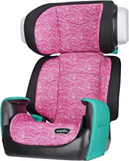 Evenflo Spectrum 2-in-1 Booster Car Seat, Fuchsia Shock