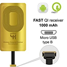 QI Receiver Type B for HTC DESIRE 10 PRO- HTC ONE X9-HTC ONE E9- E9+ ViVo X1–Meizu M5-M3-QI Receiver-QI Receiver Micro USB - QI Wireless Receiver Micro USB- Android Micro USB- QI Wireless Adapter B