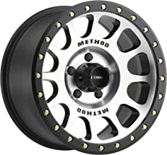 Method Race Wheels NV Black Wheel with Machined Face (16x8