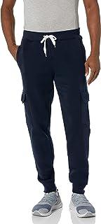 SOUTHPOLE Men's Active Basic Jogger Fleece Cargo Pants