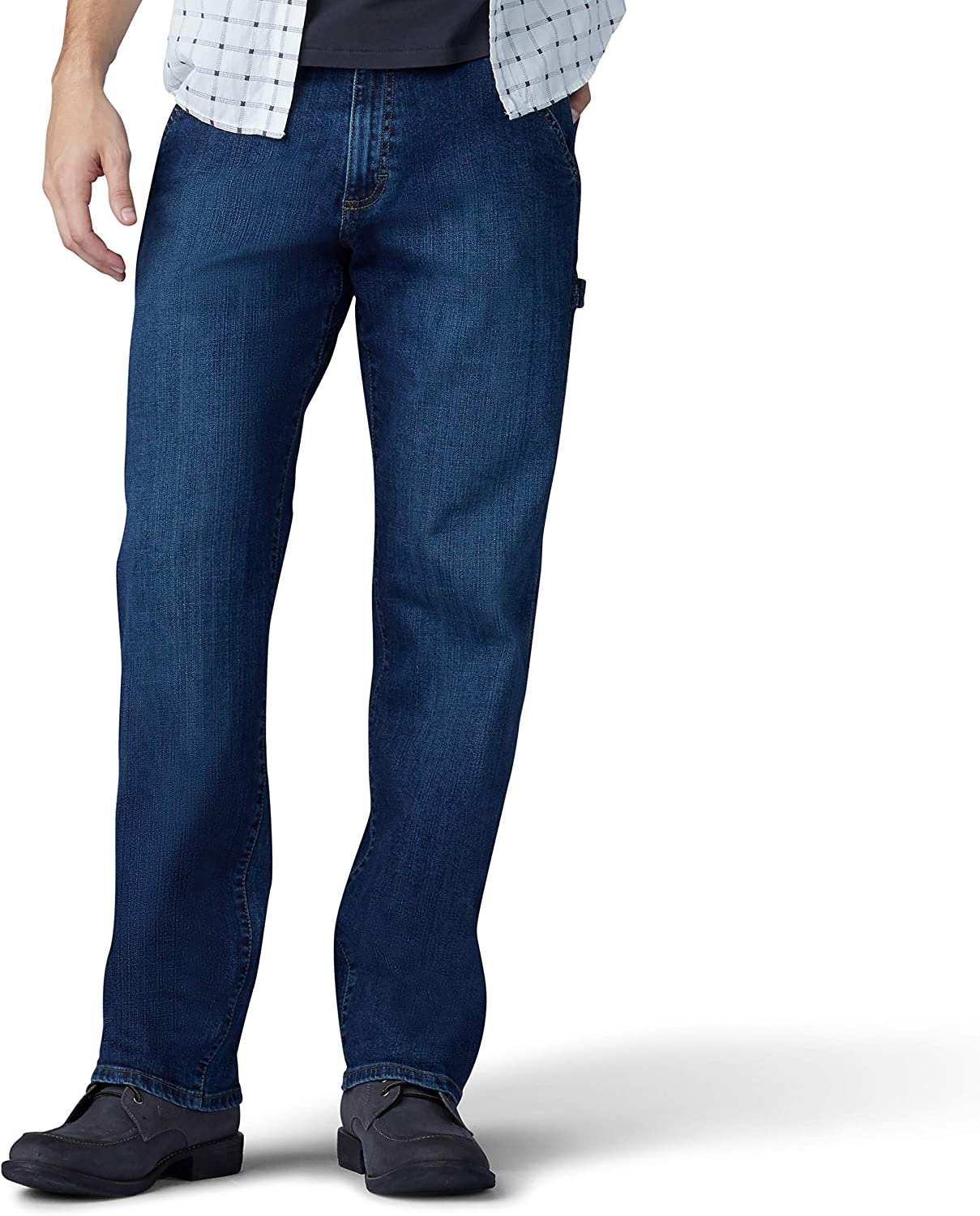 Max 68% OFF Weekly update Lee Men's Performance Series Extreme Carpenter Motion Loose Fit