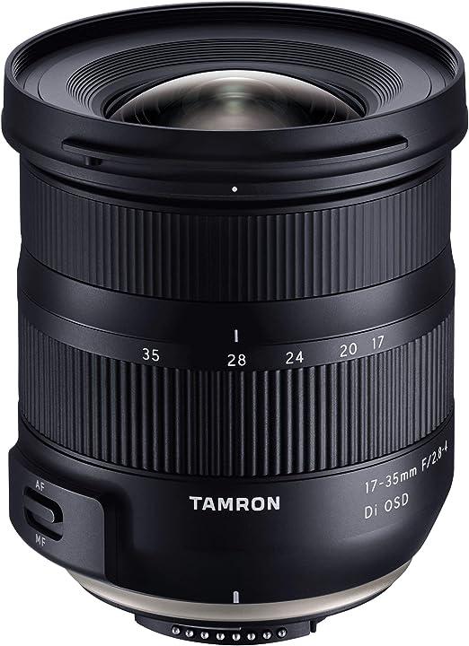 Obiettivo 17-35mm f/2.8-4 di osd, attacco nikon, nero tamron ta037