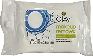Olay Makeup Remover Wet Cloth, 4 Pack of 7 Cloths, 28 Cloths Total