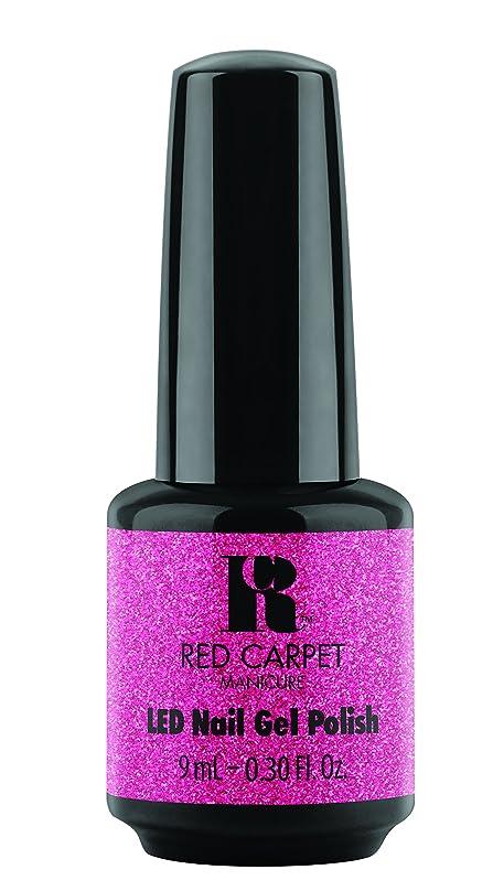 発生する適切なミケランジェロRed Carpet Manicure - LED Nail Gel Polish - Designer Series - Swaggin - 0.3oz/9ml