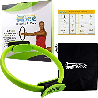 featured product Pilates Ring Premium Yoga Fitness Magic Circle Toning Inner Outer Thigh Master, Abs, Legs, Core Body Workout Improve Strength Posture, Power Training fit Resistance Exercise Equipment, Includes Bag