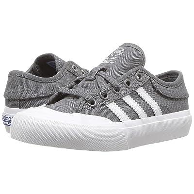 adidas Skateboarding Matchcourt (Little Kid/Big Kid) (Grey 4/Footwear White/Gum 4) Men