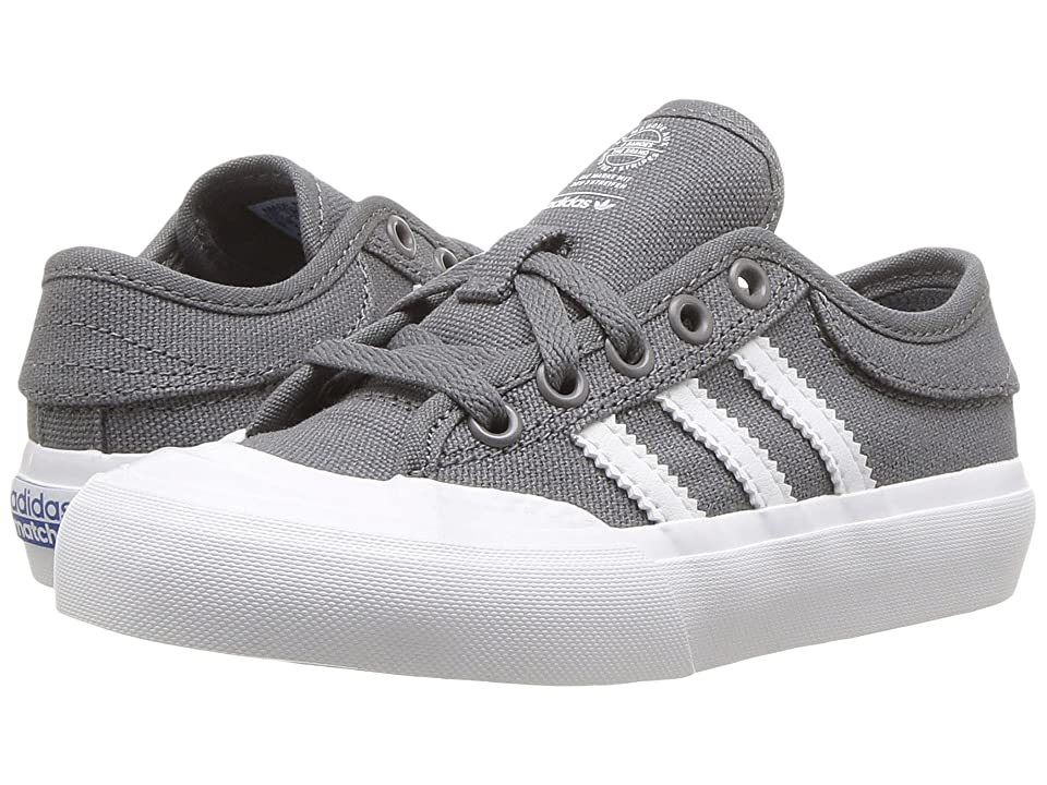 adidas Skateboarding Matchcourt (Little Kid/Big Kid) (Grey 4/Footwear White/Gum 4) Men