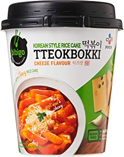 CJ Bibigo Cup Topokki Cheese, 160G