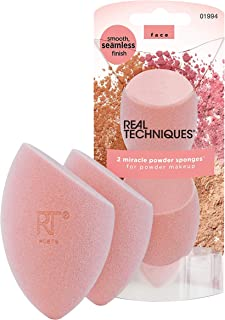 Real Techniques Miracle Complexion Beauty Sponge Makeup Blender, Set of 8