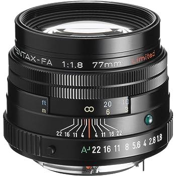 PENTAX 77mm f/1.8 Limited, black