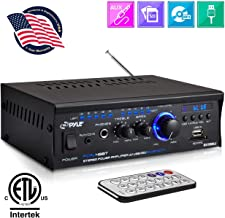 Bluetooth Mini Stereo Power Amplifier  2x120W Dual Channel Sound Audio Receiver..