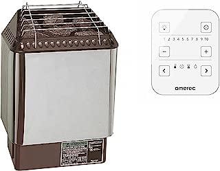 Amerec Sauna Designer Trend 6KW Sauna Heater with Rocks and A30 Control Included