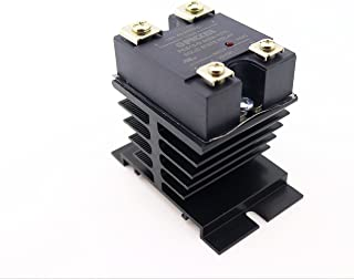 PCS15-D-240A-10ZL-I50 |10 Amp, 48-280 VAC Zero Crossing | UL Rated | 4-32 VDC Input | Hockey Puck Solid State Relay W/Heat Sink & Thermal Transfer pad|Base SSR Cross: Crydom CL240D10IP00