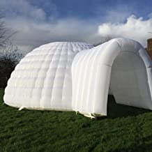 Inflatable Family Camping Recreation Dome Igloo Tent Custom Colors