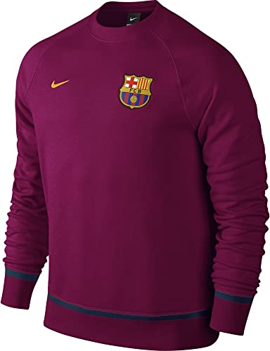 Nike FCB Auth AW77LS Crew T-Shirt Football Club Barcelone 2015 2016pour Homme