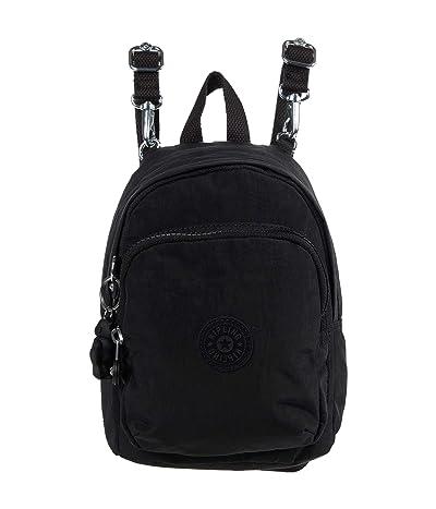 Kipling Delia Compact (Black Noir) Backpack Bags