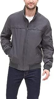 Dockers Men's Microtwill Golf Bomber Jacket