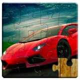 Sports Cars Jigsaw Puzzles for Kids - Full version (Freetime Edition) - Fun and Educational Super Cars Puzzle Game for Adults and Kids, Preschool Toddlers, Boys and Girls 2, 3, 4, or 5 Years Old