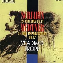 24 Preludes No. 18 in F Minor, Op. 11