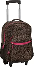 Best cheetah print rolling luggage Reviews