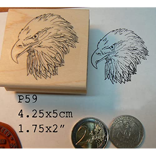 P59 Eagle Rubber Stamp