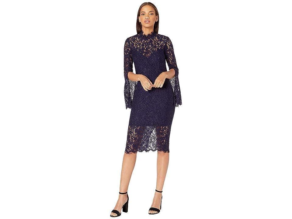 7ec053877ba0ea Bardot Sienna Midi Dress (Twilight) Women