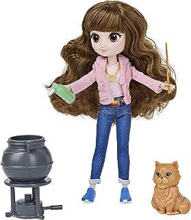 Wizarding World 6061849 Harry Potter - lalka Hermiona Granger z włosami czesanymi, zestaw upominkowy z 2 strojami i 5 akce...