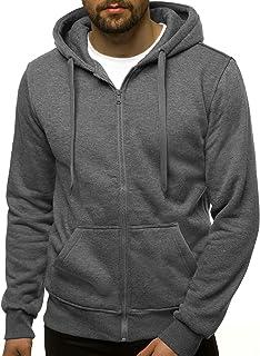 Kapuzenpullover Sweatshirt Sweatjacke Hoodie Basic OZONEE N//3501Z Herren