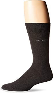 Hugo Boss Men's 2-Pack Solid Combed Cotton Sock