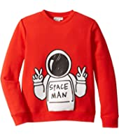 Stella McCartney Kids - Spaceman Sweatshirt (Toddler/Little Kids/Big Kids)