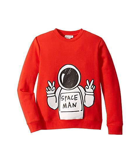 Stella McCartney Kids Spaceman Sweatshirt (Toddler/Little Kids/Big Kids)
