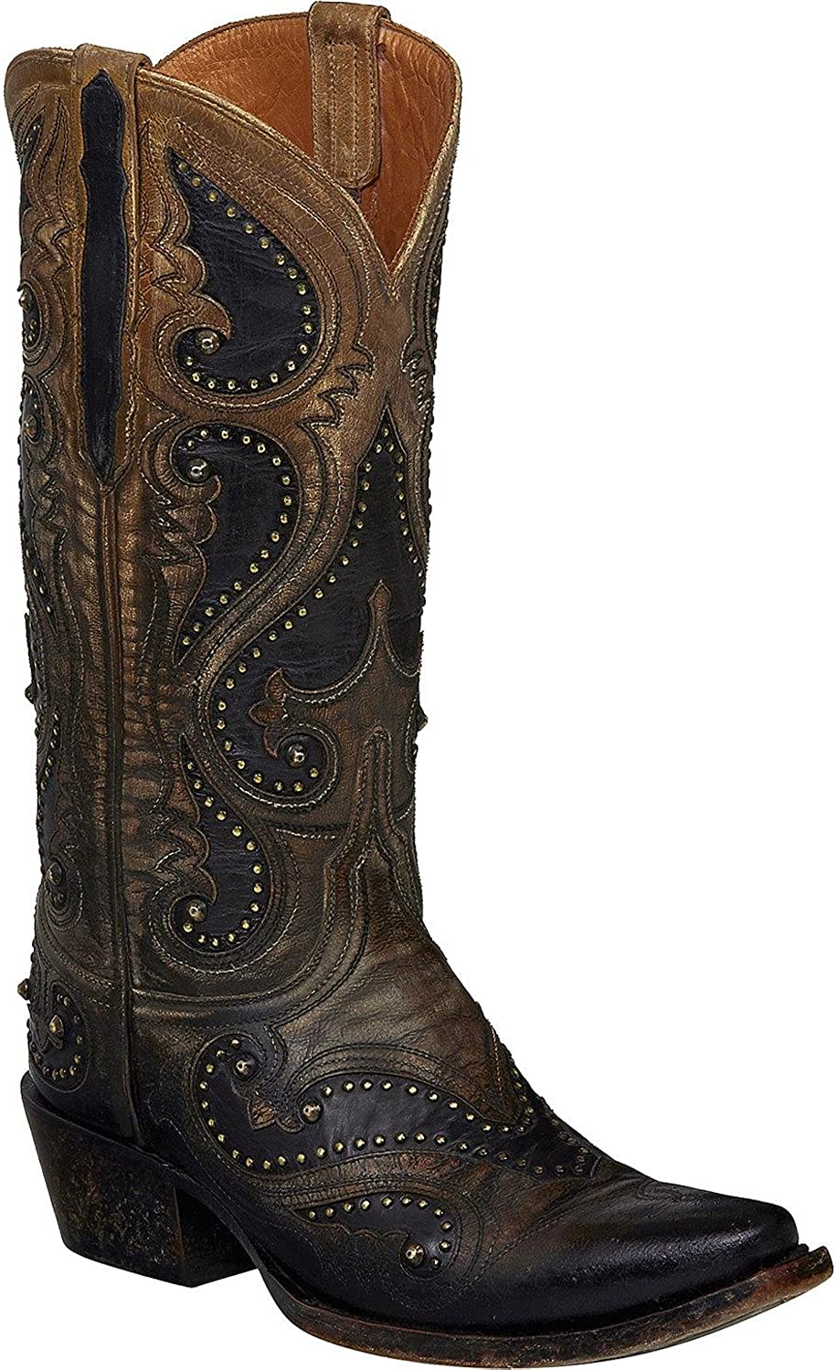 Lucchese Women's Ombre Gemma Cowgirl Boot Snip Toe - M5116
