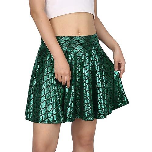 Iridescent Scale Mermaid Skirt Adult Costume